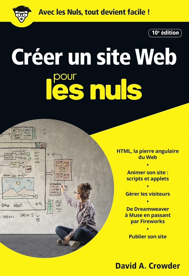 cr u00e9er un site web pour les nuls poche  10e  u00e9dition