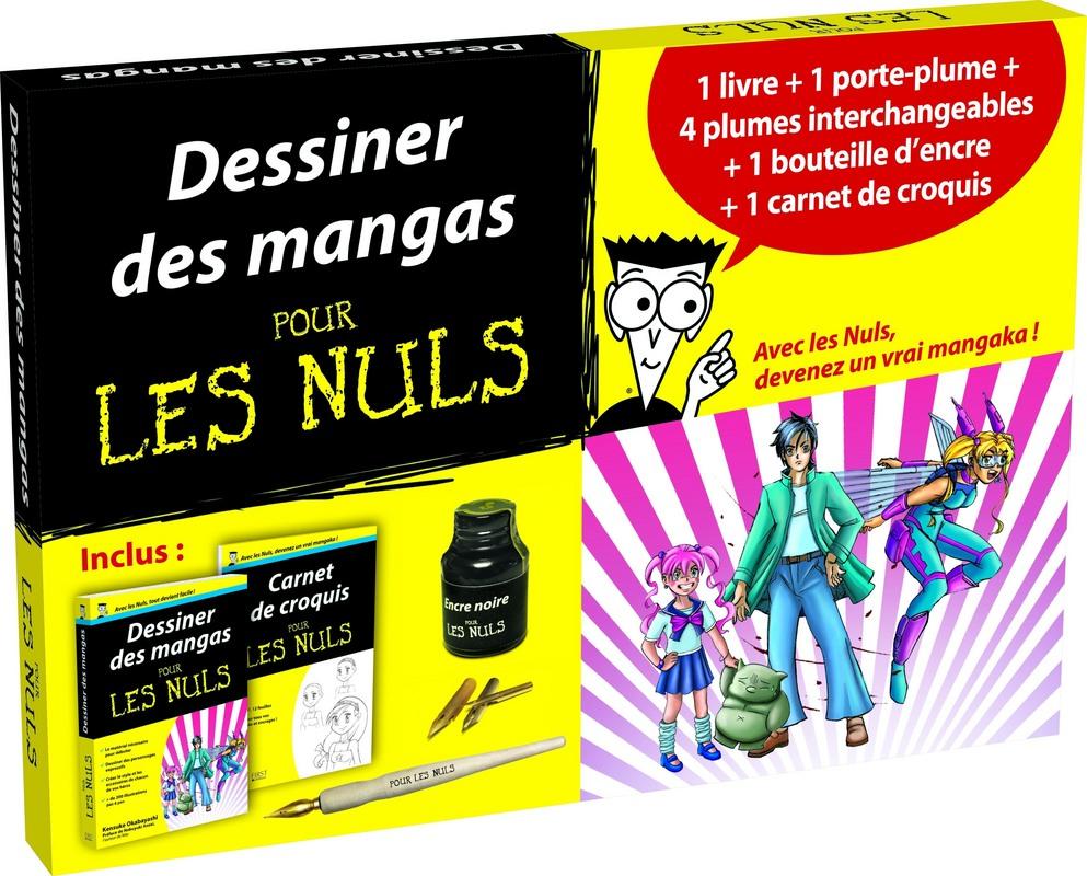 Coffret Dessiner Des Mangas Pour Les Nuls Pour Les Nuls