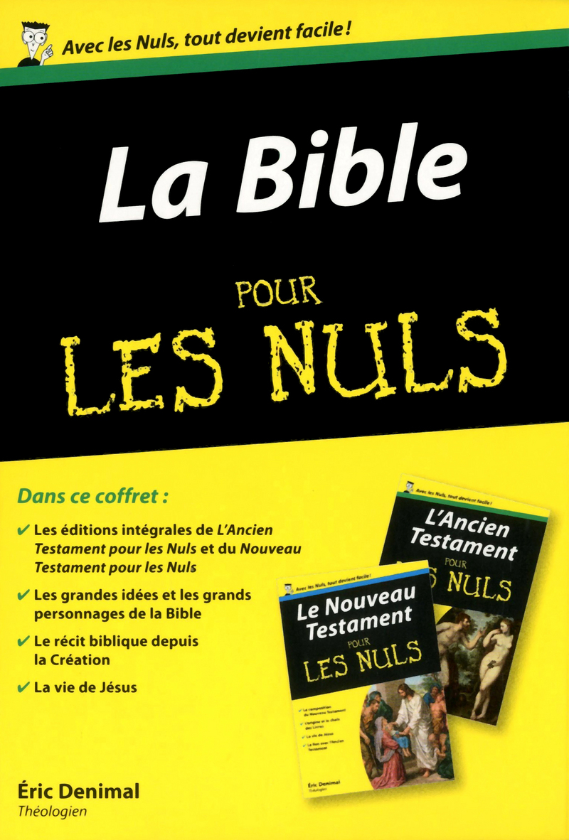coffret la bible pour les nuls pour les nuls. Black Bedroom Furniture Sets. Home Design Ideas