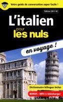 L'italien pour les Nuls en voyage ! NE