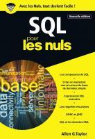 SQL Poche Pour les Nuls, 3e