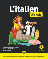 L'italien pour les Nuls, nouvelle édition