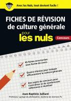 Fiches de révision de culture générale pour les Nuls Concours