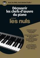 Découvrir les chefs-d'oeuvre du piano pour les Nuls coffret