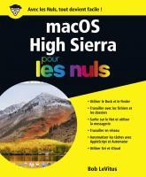 macOS High Sierra pour les Nuls grand format