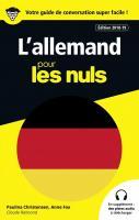 Guide de conversation Allemand pour les Nuls, 3e édition
