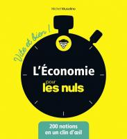 L'économie pour les Nuls - Vite et Bien