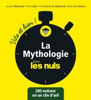 La mythologie pour les Nuls - Vite et Bien