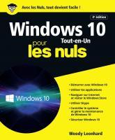 Windows 10 Tout en 1 pour les Nuls, 4e éd