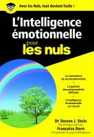 L'Intelligence émotionnelle pour les Nuls poche