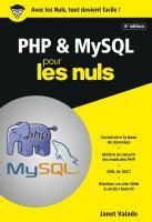 PHP et MySQL pour les Nuls, poche 6 éd.