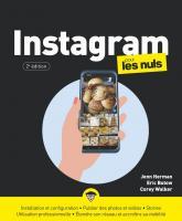 Instagram pour les Nuls, 2e éd, grand format