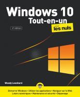 Windows 10 Tout-en-1 pour les Nuls, grand format 6e éd.