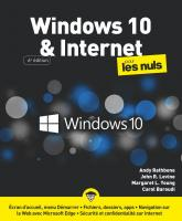 Windows 10 et Internet pour les Nuls, grand format, 6 ed.