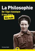 La Philosophie pour les Nuls - De l'âge classique à nos jours Tome 2 poche, nouvelle édition