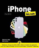 iPhone IOS 15 pour les Nuls, grand format