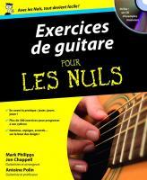 Exercices de guitare Pour les nuls