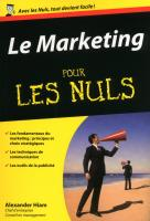 Le Marketing POCHE pour les Nuls