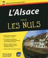 L'Alsace Pour les Nuls
