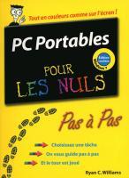 PC Portables Ed Windows 7 Pas à pas Pour les nuls