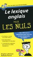 Le lexique anglais pour les Nuls