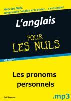L'Anglais Pour les Nuls - test MP3 - Pronoms personnels