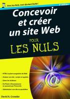 Concevoir et créer un site Web 4e Mégapoche Pour les Nuls