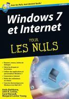 Windows 7 et Internet ed Explorer 9 Megapoche pour les Nuls