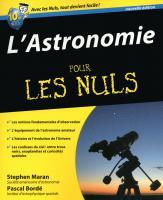 Astronomie 2e pour les Nuls (L')