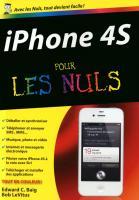 iPhone 4S Poche Pour les nuls