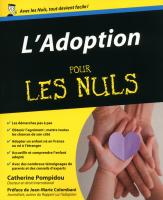 Adoption Pour les nuls (L')