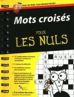 Mots croisés Poche Pour les Nuls (Les)