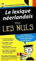 Le Lexique néerlandais pour les Nuls