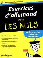 Exercices d'allemand pour les Nuls