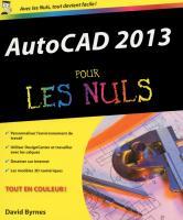 AutoCAD 2013 Pour les Nuls