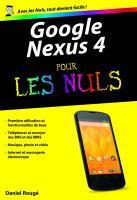 Google Nexus 4 Poche Pour les Nuls