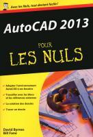 AutoCAD 2013 Poche pour les Nuls
