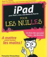 iPad Pour les Nulles, 2e