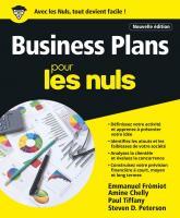 Business Plans pour les Nuls - Nouvelle édition