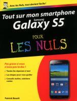 Tout sur mon Samsung Galaxy S5 Pour les Nuls