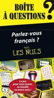 Boîte à questions - Parlez-vous français ? pour les Nuls