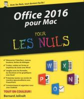 Office 2016 pour Mac pour les Nuls