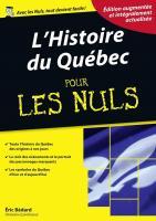 L'histoire du Québec pour les Nuls, édition québécoise