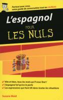 L'espagnol - Guide de conversation pour les Nuls, 2ème édition
