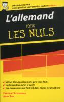 L'allemand - Guide de conversation pour les Nuls, 2ème édition