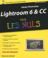 Adobe Photoshop Lightroom 6 pour les Nuls