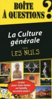 Boîte à questions La Culture générale pour les Nuls, 4e édition