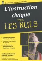 L'instruction civique Pour les Nuls, édition poche