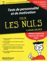 Tests de personnalité et de motivation pour les Nuls Concours