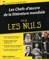 Les chefs-d'oeuvres de la littérature mondiale Pour les Nuls